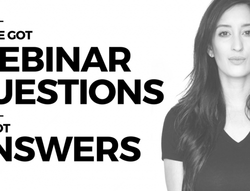 No QUESTIONS OFF LIMITS WEBINAR Q&A